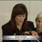 Becky McClain, Injured Pfizer Molecular Biologist and Health & Safety Advocate Speaks at Calaway Awards