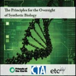Principles for the Oversight of Synthetic Biology