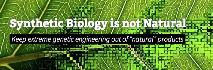 "Tell Ecover: Synthetic Biology is Not ""Natural"""