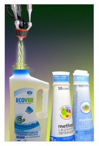 Ecover products will soon contain ingredients made with synthetically modified organisms.