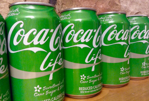 Sugars derived from stevia are being widely incorporated into leading soft drinks such as Coca Cola Life and Pepsi True. Mike Mozart via Flickr
